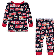 100 Fire Truck Pajamas GAP Navy Pyjamas Babyshopcom