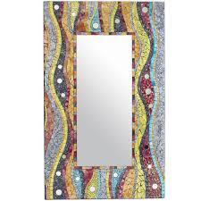 cerulean blue mirror pier 1 imports 29 88 w x 1 13 d x 45 63