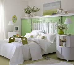 Small Bedroom Decorating Ideas With Light Lime Green Color Palette Home Decor