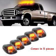 5x Smoked Amber Cab Roof Marker Running LED Lights For Truck SUV Off ... 19992018 F150 Diode Dynamics Led Fog Lights Fgled34h10 Led Video Truck Kc Hilites Prosport Series 6 20w Round Spot Beam Rigid Industries Dually Pro Light Flood Pair 202113 How To Install Curve Light Bar Aux Lights On Truck Youtube Kids Ride Car 12v Mp3 Rc Remote Control Aux 60 Redline Tailgate Bar Tricore Weatherproof 200408 Running Board F150ledscom Purple 14pc Car Underglow Under Body Neon Accent Glow 4 Pcs Universal Jeep Green 12v Scania Pimeter Kit With Red For Trucks By Bailey Ltd