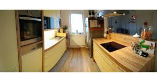 dan küche mit side by side kühlschrank