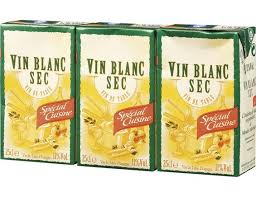 vin blanc sec cuisine vin de table blanc 3 x 25 cl livré par toupargel fr