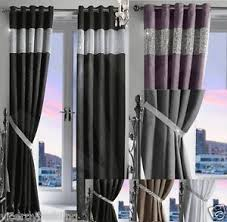 Thermal Lined Curtains Australia by Diamante Thermal Blackout Pair Curtains Ready Made Eyelet Ring Top