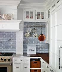Light Blue Subway Tile by Kitchen Kitchen Backsplash Blue Subway Tile Blue Subway Tile