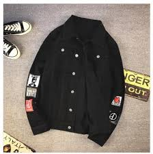 Vintage Mens Jean Clothing Casual Streetwear