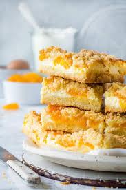 mandarinen streusel kuchen mit pudding schmand creme