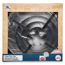 Captain America Shield Cake Pan Set Disney Eats In 2019 Disney
