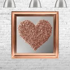 SHH Interiors ROSE GOLD HEART