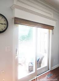 Sliding Door With Blinds In The Glass by Best 25 Sliding Windows Ideas On Pinterest Replacement Patio