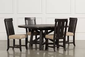 Jaxon 5 Piece Extension Round Dining Set W/Wood Chairs | Living Spaces Live Edge Acacia Wood Iron 106 Ding Table W 5 Chairs Bench Signature Design By Ashley Charrell Piece Round Set Hooker Fniture Archivist With Pedestal Shop Picasso Pc Kitchen Table Set Leaf And 4 Plainville Settable Vintage Joanna Vintagrpjoannatbl5 Leg Side Detail Feedback Questions About Goplus Pcs Black Room Boconcept Granada Extendable Aptdeco Coaster Barzini Leatherette Mix Match 150041 Counter Height Dunk Costway Metal Canterbury Extension Noa Nani