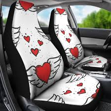 Winged Hearts/Hearts/Red Hearts/Car Seat Covers/Auto Seat Covers/SUV ... Fj Cruiser And Child Car Seats T Family Adventures 47 In X 23 1 Pu Front Universal Seat Covers Leather Chevrolet 350 Truck Reupholstery Upholstery Shop The Back Is The Right For Littles High Quality Durable Car Seat Covers For Pickup Trucks Dsi Automotive Fia Neo Neoprene Custom Fit 19992007 Ford F2f550 Rear Set 2040 Gun Mount Storage Boxes For Your Guns Valuable Items Covercraft F150 Chartt Pair Buckets 200914 Cover Pets Khaki Pet Accsories Formosacovers 751991 Regular Cab Solid Bench Rugged