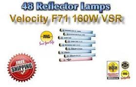 tanning bed ls bulbs wolff velocity vsr f71 160w reflector lot