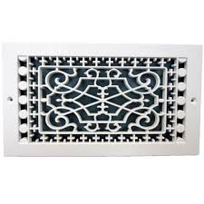 Decorative Return Air Grille Canada by Smi Ventilation Products Victorian Base Board 6 In X 10 In 7 3