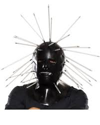 Slipknot Halloween Masks For Sale by Slipknot Mask 133 Slipknot Craig Mask With Spikes Horror Shop Com
