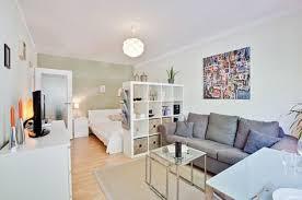 wohn und schlafzimmer in einem raum ideen 3 apartment