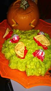 Puking Pumpkin Guacamole Recipe by Vomiting Pumpkin Template Virtren Com