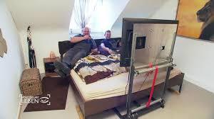 diy underbed flat tv lift
