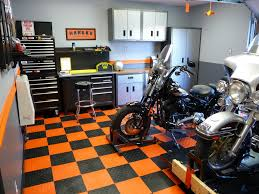Harley Davidson Garage Ideas