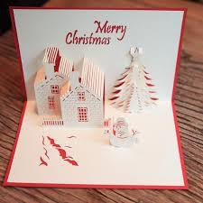 Christmas Castle Pop Up Greeting Card Handmade Cards Pinterest