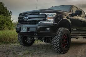 100 Lifted Ford Truck Diesel 2018 F150 4x4 Lariat Black RAD RIDES