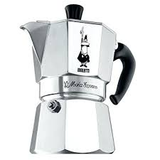 Coffee Maker Italian Bialetti Moka Express Stovetop Espresso Maker1 Small 2 Parts