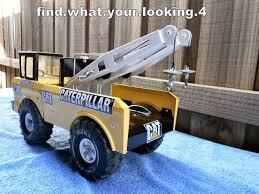 100 Tow Truck Games TONKA 1968 CATERPILLAR MIGHTY TOW TRUCK CUSTOM RESTORATION GREAT