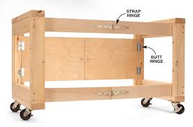 awesome folding table base for your shop woodwork city free