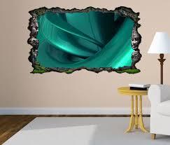 3d wandtattoo 3d effekt spirale metall türkis abstrakt kunst textur muster selbstklebend wandbild wandsticker wohnzimmer wand aufkleber 11o091