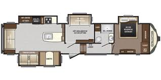 Fifth Wheel Bunkhouse Floor Plans by 2017 Keystone Rv Sprinter Fifth Wheel Series M 357 Fwlft Specs And