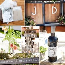 The Rustic Touches To Wedding Including Wooden Signs And Place Card Holder Were All Made By My Super Handy Husband