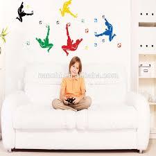 männer spielen fuß moderne wand aufkleber für home schlafzimmer wohnzimmer sofa dekoration ausgezeichnete geschenk für jungen zimmer buy moderne