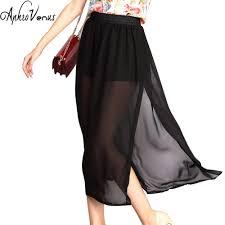 online get cheap long side slit skirt aliexpress com alibaba group