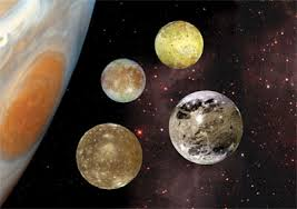 Jupiters Four Largest Moons Io Europa Ganymede And Callisto Are Known As The Galilean Satellites Because They Were Discovered By Galileo Galilei In
