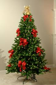 Modern Ideas For Christmas Tree Decorating With Ribbons Ribbon Decoration
