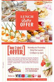 buffet cuisine dining restaurant in vadodara 24 carats vadodara
