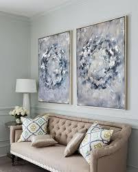 unendlichkeit kreise in blau grau große grau und silber
