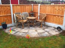 Patio Slabs by Circular Corner Patio With Rotunda Curved Slabs Regal Concretes