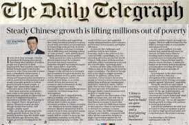 The Daily Telegraph Publishes A Signed Articleambassador Liu Within Current Newspaper Articles 2017 2018