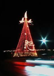 Outdoor Christmas Tree Lights Pole Center The Light Flagpole Kit Multicolor