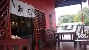 Nippon Sushi Mai Catering Dining Table And Entrance Of The Restaurant