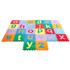 Lowercase Alphabet Play Mat 26 pack Soft Floor Outlet