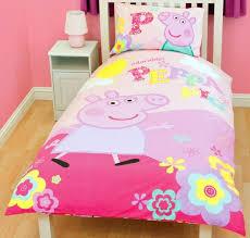 Peppa Pig Funfair Junior Bedding Set 4 In 1 Bundle Duvet Cot Bed