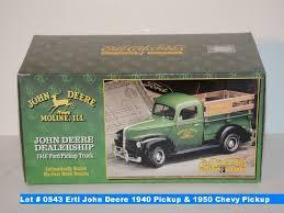 100 Chevy Pick Up Trucks Ertl John Deere 1940 Up Truck 1950 Up Truck