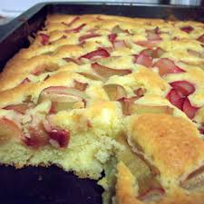 blitz rhabarberkuchen rezept