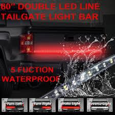 Tailgate LED Strip Light Bar Double Row 60