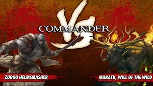 Mtg Thraximundar Edh Deck by Commander Versus Series Deck Tech Zurgo Helmsmasher Vs Marath