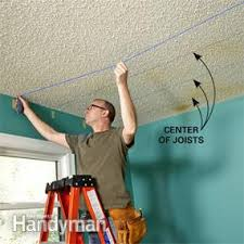 Scraping Popcorn Ceiling Off by Why Remove Popcorn Ceiling When You Can Cover It With Drywall