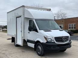 2014 Mercedes Sprinter 3500 Box Truck 13' 46k Miles - Used Mercedes ...