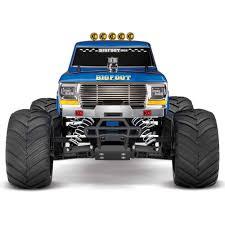 100 Bigfoot The Monster Truck Traxxas BigFoot RTR Helilandcom