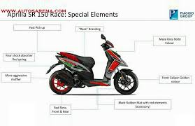 The New Aprilia SR 150 Race Edition Will Be A More Performance Focused Version Of Already Power Packed Scooter
